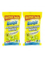 Anti Bacterial Wipes (Pack of 2) - Duzzit