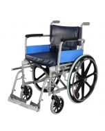 Invalid Folding Wheelchair With Mag Wheels - Universal Deluxe - Vissco