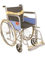 Invalid Wheelchair - Regular Folding With Spoke Wheels - Vissco