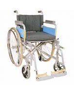 Invalid Wheelchair - Deluxe Folding With Spoke Tyres - Vissco