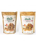Chocolate Crunch and Cranberry Crunch Healthy Oats Rocks - Get Baked