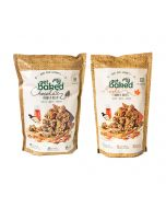 Chocolate Crunch and Maple Crunch Oats Healthy Rocks - Get Baked