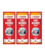 Foot Warmer Pouch (Pack of 3 Pairs) - Warmee