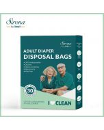 Premium Adult Diaper Disposal Bags - Sirona by InWi