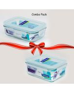 Air Tight Container (Pack of 2) - Glasslock