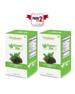 Green Tea Leaves - 100 gm - (Pack of 2) - Nutro Active