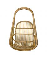 Simple Cane Hanging Chair (Yellow) - IRA