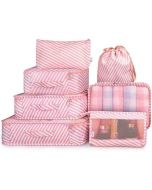 Printed Travel Organizer Bags (Set of 7) - House of Quirk