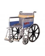 Invalid Wheel Chair with Regular Folding Mag Wheels - Vissco