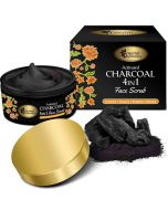 Activated Charcoal 4 In 1 Face Scrub (100 gm) - Oriental Botanics