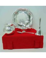 Pooja Thali 8 inch 7pc Set