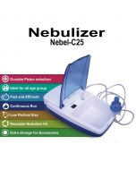 Nebel-C25 Nebulizer (White) - Healn Healthy