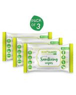 Multi Use Sanitizing Wipes (3 Pack- 30 wipes Each) - BodyGuard