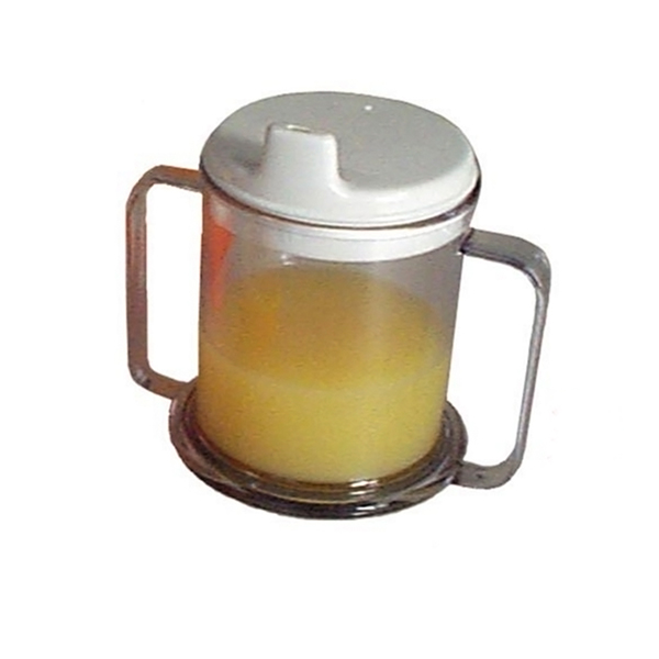 Double Handle Mug with Lid - Parsons