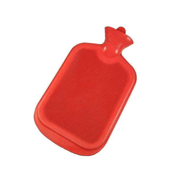 Super Deluxe Non Electric Hot Water Bag (2500 ml - Red) - Hicks