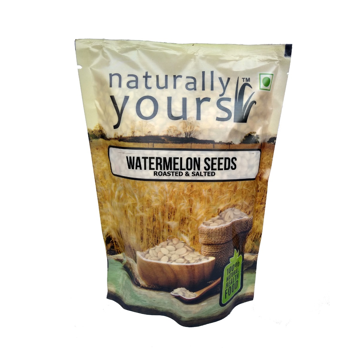 Roasted and Salted Watermelon Seeds (500 gm) - Naturally Yours