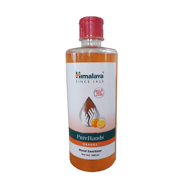 PureHands Hand Sanitizer (Orange) - Himalaya