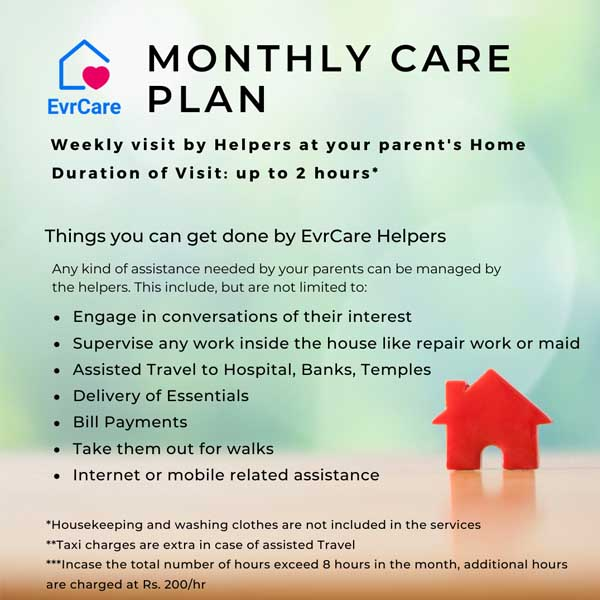 Helper at Home Plan - EvrCare