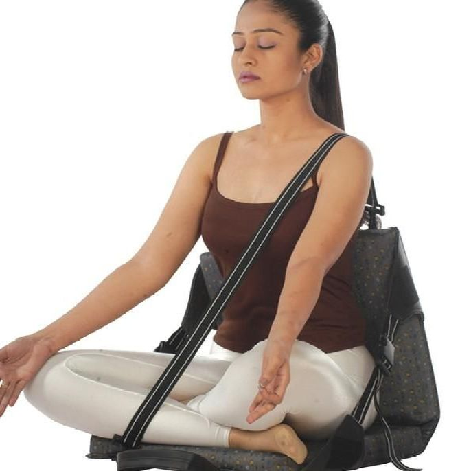 New Back Rest For Yoga - Vissco
