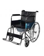 Steel Commode Wheelchair - Vissco