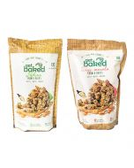 Tangy Masala Crunch and Pudina Crunch Oats Granola Rocks - Get Baked