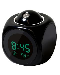 Talking Alarm Clock With Projector