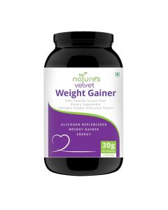 Weight Gainer Powder (Chocolate) 1000 gm - Natures Velvet