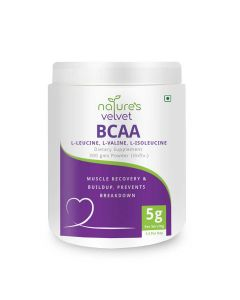 Instantized BCAA 5000 mg Powder (300 gm) - Natures Velvet