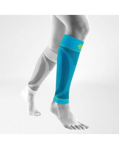Sports Compression Short Sleeves for Lower Leg (Rivera Blue) - Bauerfeind