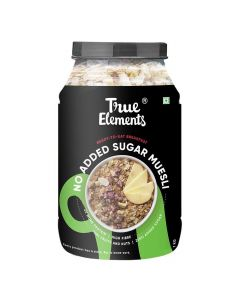 No Added Sugar Muesli (1000 gm) - True Elements