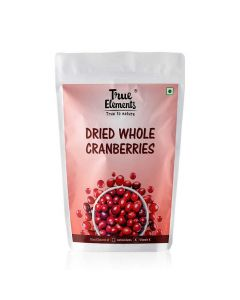 Dried Whole Cranberries (500 gm) - True Elements