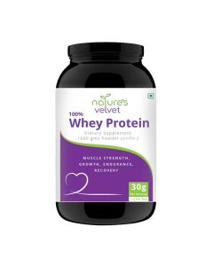 Whey Protein for Fitness and Strength (1000 gm) - Natures Velvet