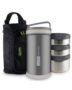 Double Wall Vacuum Insulated Lunch Box 1.7 L - Home Puff