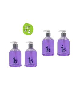 Lavender Sukoon Hand Wash - (300 ml Set of 4) - Be. The Solution