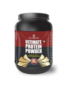 Ultimate Protein Muscle Gainer Whey (1 kg) - CRD Ayurveda