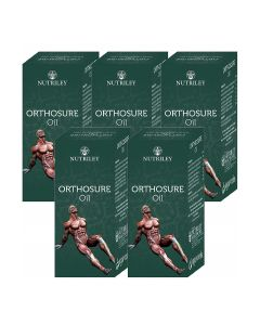 Orthosure Joint Pain Oil - 30 ml (Pack of 5) - CRD Ayurveda