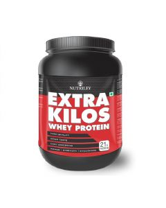 Extra Kilos Muscle Gainer Whey Protein (1 kg) - CRD Ayurveda