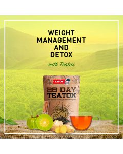 28 Day Teatox for Detox and Weight Management (28 Tea Bags) - Kayos