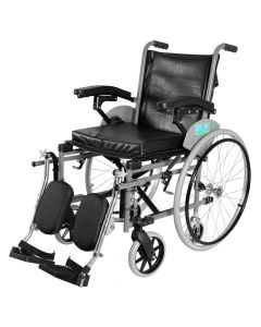 Imperio Wheel Chair with Elevated Footrest Spoke Wheel  - Vissco
