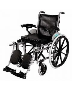 Imperio Wheelchair with Elevated Footrest Mag Wheel - Vissco