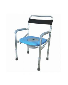 Comfort - Commode and Shower Chair Without Wheel - Vissco