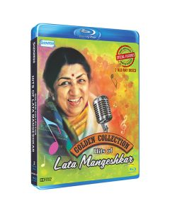 Golden Collection Hits of Lata Mangeshkar (2 Blu Ray Disc) - Shemaroo