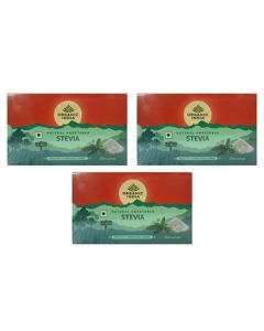 Organic Stevia (25 Sachets) Pack of 3 - Organic India