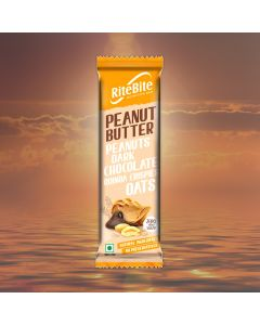 Peanut Butter Nutrition Bars (Pack of 12) - Ritebite Max Protein