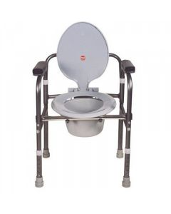 Comfort Folding Commode without Castors - Vissco