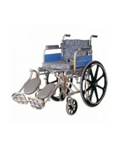 Invalid Wheelchair - Deluxe  Elevated Foot - Vissco