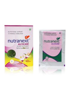 AlcoCare Dietary Supplement (5 x 10 gm) - Nutranext