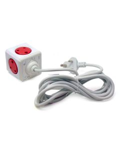 Power Cube Original with 3M wire (Red)  - Allocacoc