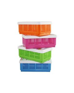 Flexi Fold Polyproplene Food Container (Pack of 4)