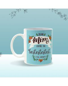 Best Mom Mug (Blue) - Seniority